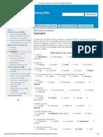 Synonym - Dhaka University Evening MBA Admission.pdf