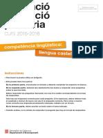 Prova Castella 2016