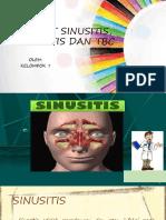 PENYAKIT SINUSITIS, BRONKHITIS DAN  TBC.pptx