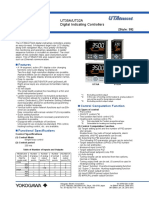 UT35A-UT32A Digital Indicating Controllers Data Sheet