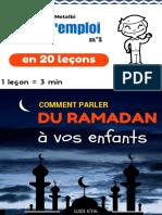 Mode d Emploi Comment Parler Du Ramadan a Vos Enfants