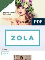 Zola.com - Le nouveau business model du mariage