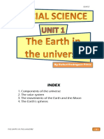 Student's Booklet - The Earth in the Universe