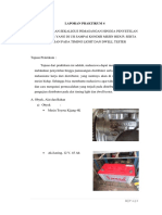 Laporan Praktikum Motor Bensin (Distributor)