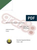 Practica 4 - Potencia en circuitos de CA