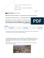 Reconnaissance Survey Methods for Highway Route Selection