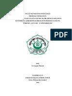 Proposal Penelitian Hubungan Status Gizi Dengan Bbl