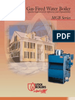 Utica MGB Hot Water Gas Fired Boiler Brochure