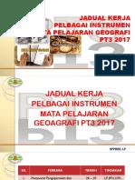 PP JADUAL KERJA DAN KAEDAH PEMBENTANGAN GEOG  PT3 2017.ppt