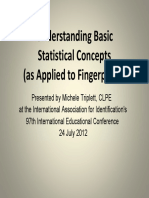 Basic Statistical Concepts Fingerprints 20120727