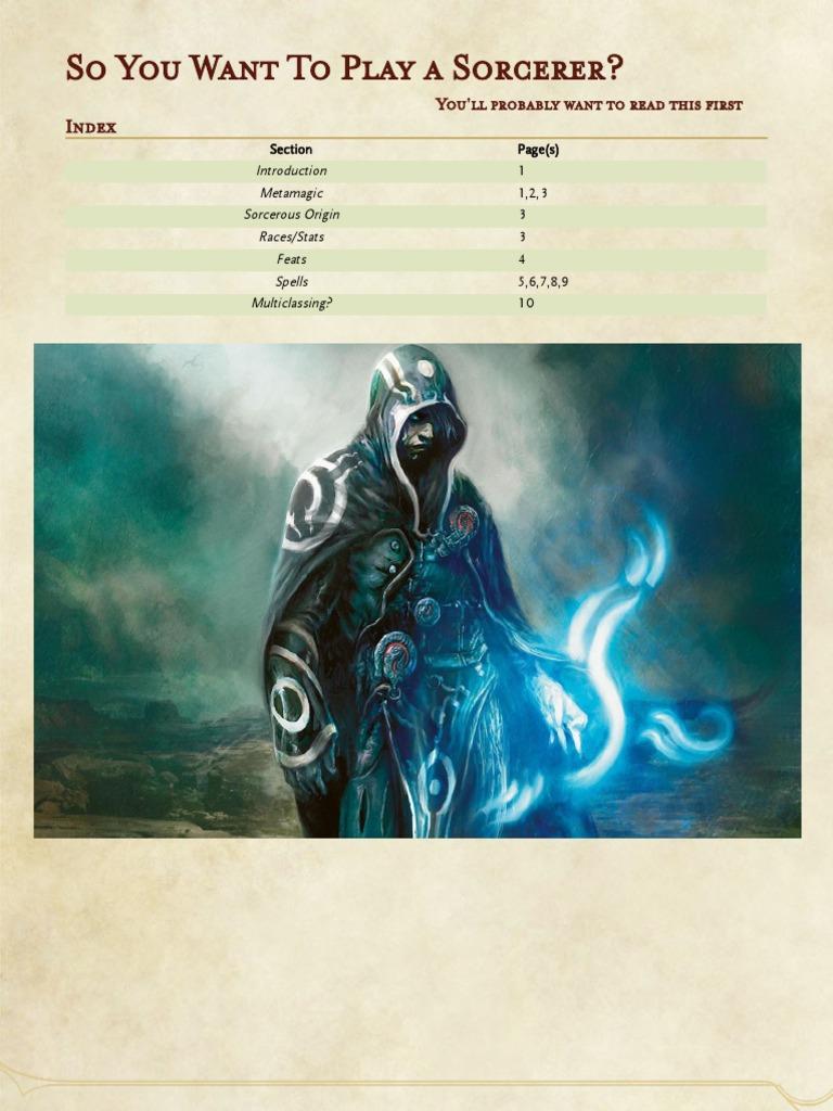 Guru's Sorcerer Guide | Magician (Fantasy) | Gary Gygax Games