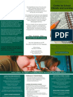 The Center for School Climate and Learning Brochure