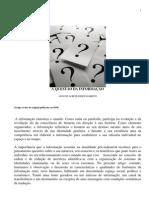 A Questão da informação2