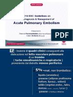 Embolia Polmonare PDF FISIO