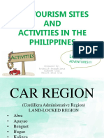 Week 9 to 10 Ecotourism Sites in the Philippines