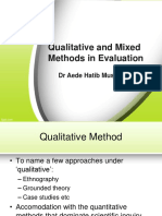 Qualitative & Mixed Methods in Evaluation-Ahm