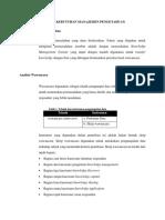 Analisis Kebutuhan Manajemen Pengetahuan