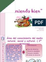 libro y actividades sobre alimentacion
