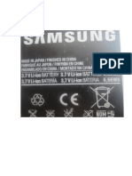 Pila Samsung