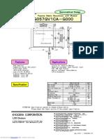 LCD Antigo Kg057qv1ca g000 d72f763db2