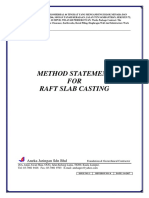 MS Basement Slab Casting (Completed)