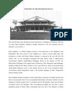A Brief History of the Kingdom of Kutai