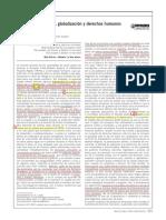 Innovación, patentes, globalización y DDHH