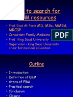 Searching (EBM) for Medical Students
