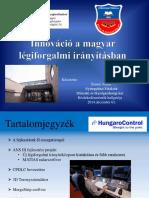 Innováció a Magyar Légiforgalmi Irányításban