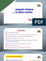 Proteina para los rumiantes