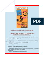 Titularizare - Psihopedagogie Speciala 2017