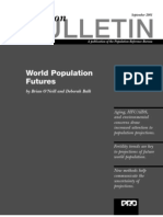World Population Futures (Sept 2001)