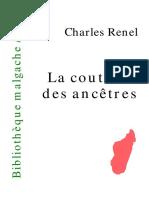 Renel, Charles - La Coutume Des Ancetres.pdf