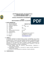 SILABOS DE ABASTECIMIENTO DE AGUA Y ALCANTARILLADO 2017.doc