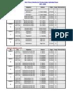Planning 2017 - 2018 3 1as Semanas (1
