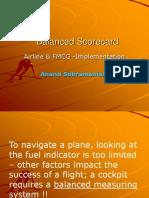 Balanced Scorecard Airline & FMCG -Implementation