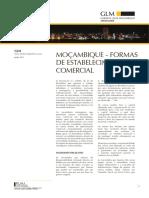 Formas de Estabelecimento Comercial Em Mocambique[1]