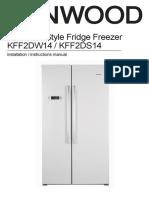 Kenwood KFF2DS14 Manual