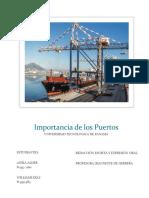 Importancia de Los Puertos