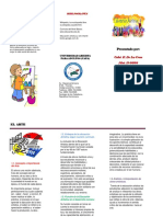 Educacion Artistica...Brochure