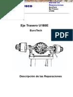 Manual Mecanica Automotriz Eje Trasero u180e