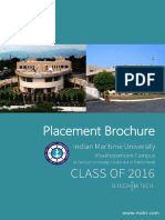 Placement Brochure 2015 2016 IMUV