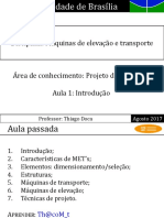 MET 1 - Máquinas de Elevação e Transporte