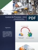 Introducción Clase Control de procesos