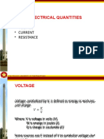 5. Voltage, Current and Resistance