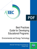 Best Practices to develop a educational progreammes