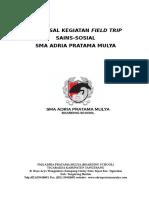 Proposal Field Trip