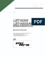 Manual Do Proprietário Sony Lbt n555av e Lbt n355