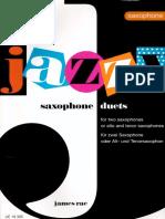 Dúos Jazz - James Rae