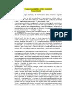 Paradoxo Sobre o Ator – Diderot